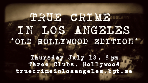 TCLA-Old Hollywood July 18th